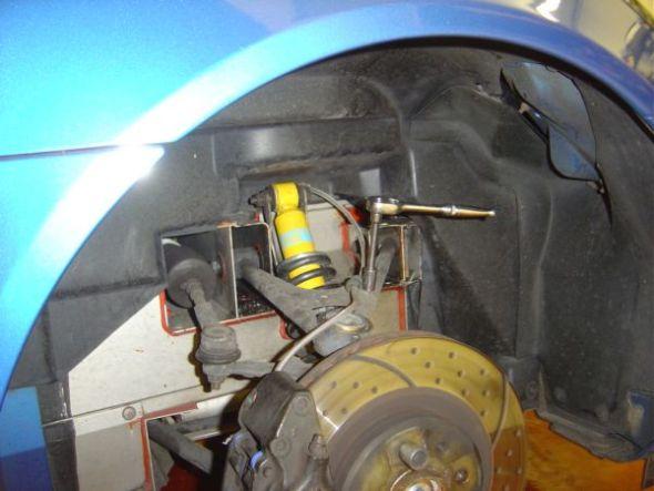 34. Securing Brake Pipe.JPG