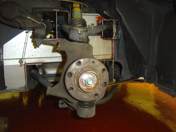 8. Removing Lower Ball Joint Nut.JPG
