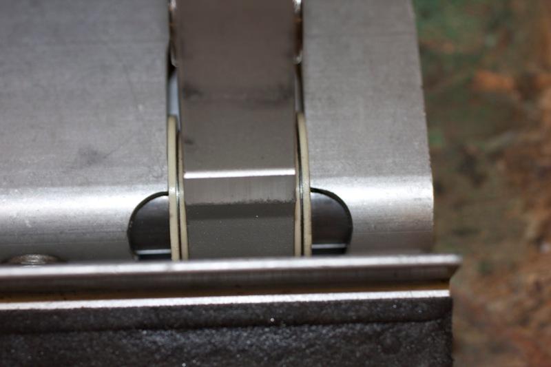 Clutch pedal detail