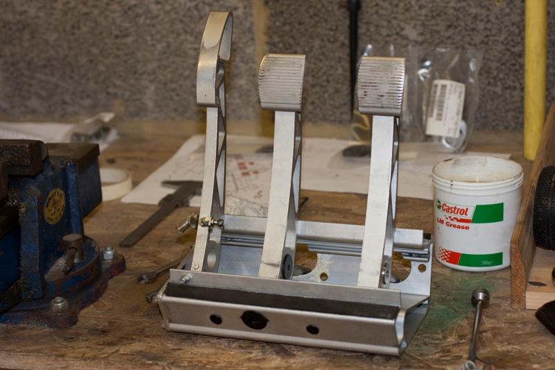 Pedal Box reassembled