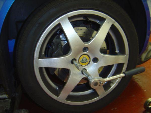 35. Tightening Wheel Bolts.JPG