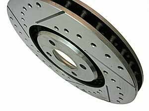 Elise-Shop.com bespoke Motorsport brake discs.