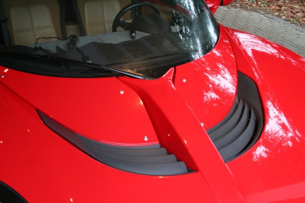 Windscreen and original wiper