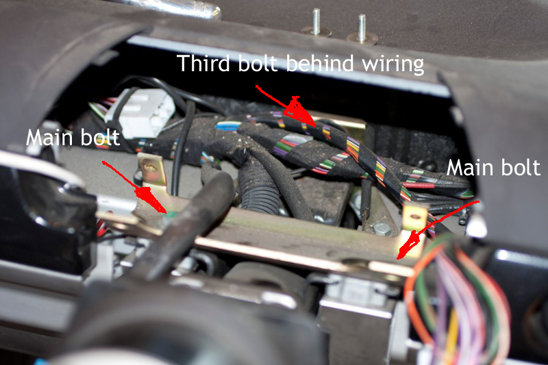 Steering Column Mounting bolts