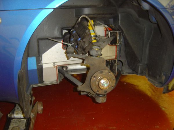 31. Damper And Lower Ball Joint Fitted.JPG