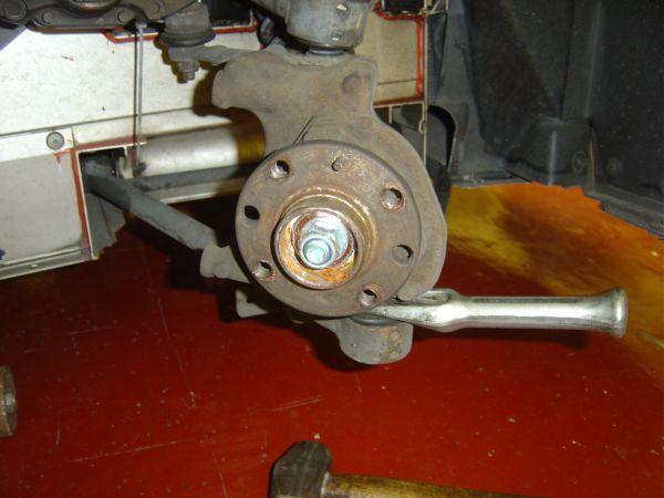 9. Splitting Lower Ball Joint.JPG