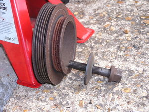 Crank Pulley and Bolt.JPG